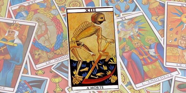 a morte no tarot