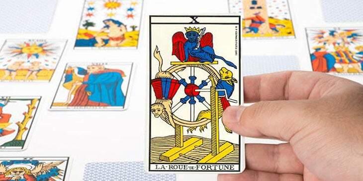 roda da fortuna no tarot