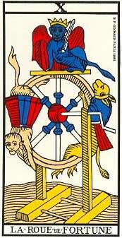 A Roda da Fortuna no Tarot é uma carta positiva ou negativa?