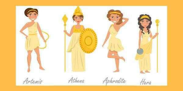 Nomes de deusas gregas