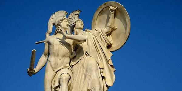 História dos deuses gregos