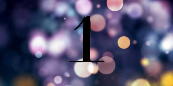 Significado do número 1 na Numerologia