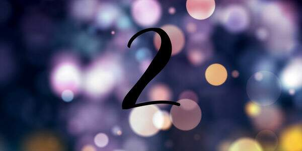 Significado do número 2 na Numerologia