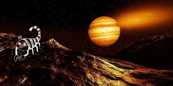 Júpiter em escorpião