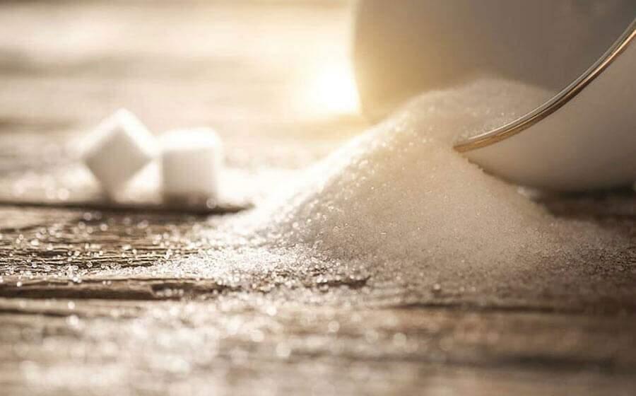 banho de açúcar