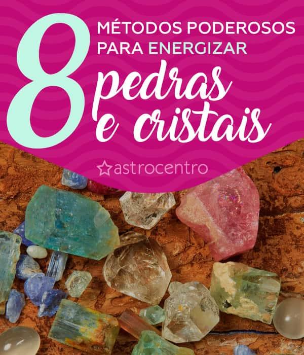 Como energizar pedras e cristais