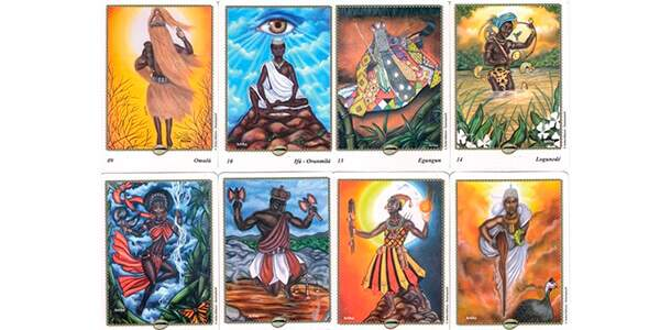 cartas do tarot dos orixas