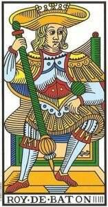 rei de paus no tarot