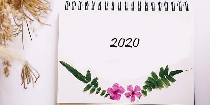 como será o ano de 2020