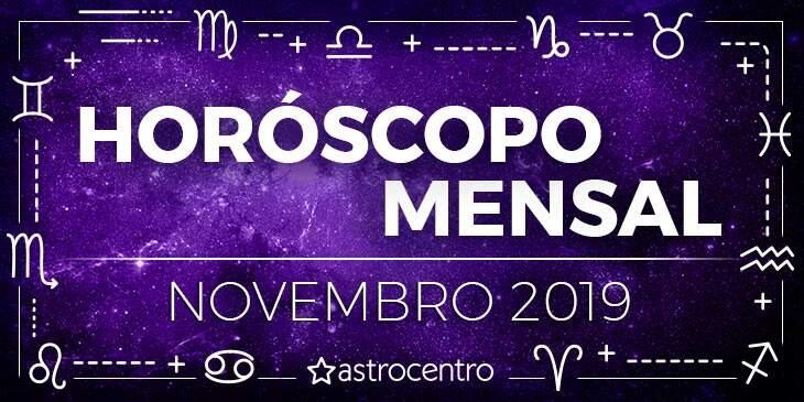Horóscopo Mensal Novembro
