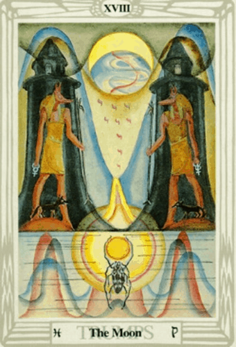 a lua - thoth tarot