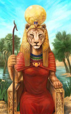 Deusa Sekhmet