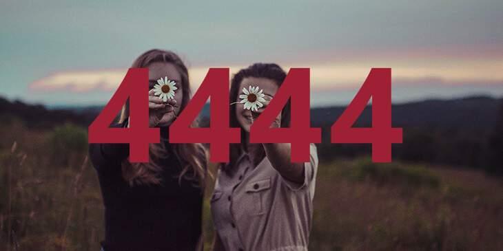 significado do número 4444
