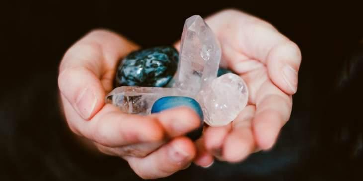 rituais com pedras