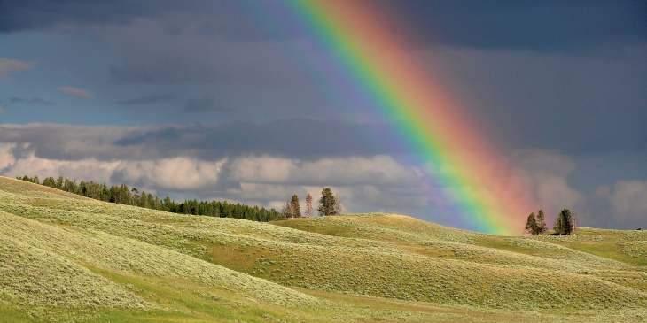 sonhar com arco íris