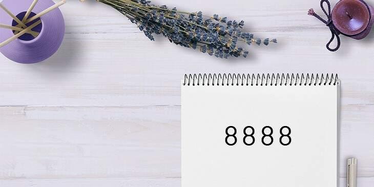 significado de 8888