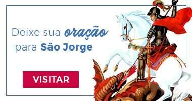 Altar virtual para São jorge