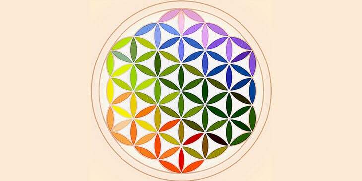 cores do reiki