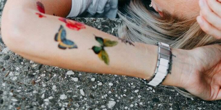 significado tattoo de borboleta