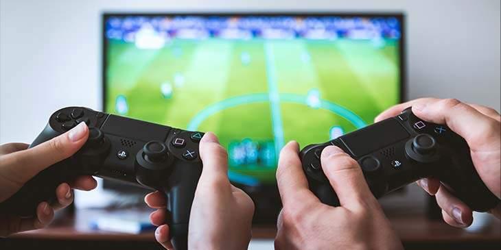 sonhar que está jogando video game