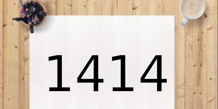 significado de 1414 Foto Pixabay