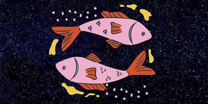 fundo do ceu em peixes
