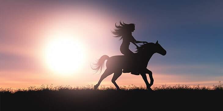 significado espiritual do cavalo