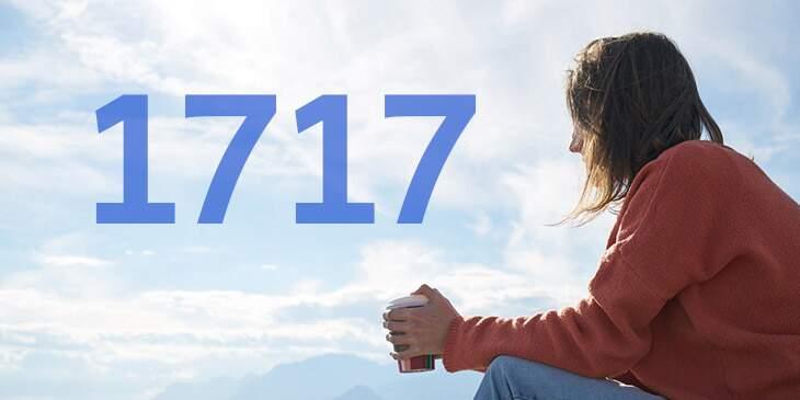 1717 significado espiritual
