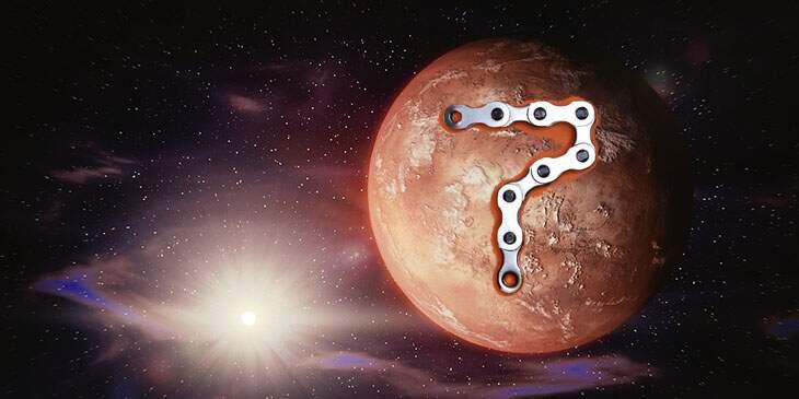 Marte na Casa 7
