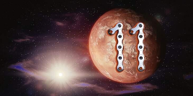 Marte na Casa 11