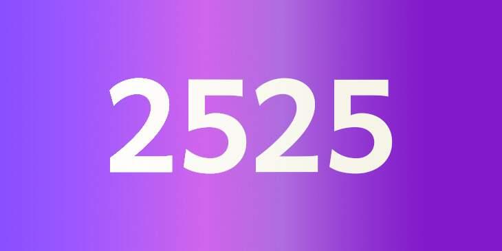 2525 significado