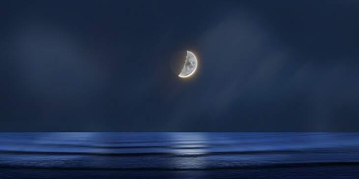 banho lua crescente